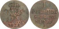 Cu Pfennig 1832  B Braunschweig-Calenberg-Hannover Wilhelm IV. 1830-183... 80,00 EUR  zzgl. 4,00 EUR Versand