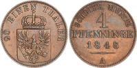 4 Pfennig 1848  A Brandenburg-Preußen Friedrich Wilhelm IV. 1840-1861. ... 35,00 EUR  zzgl. 4,00 EUR Versand