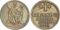 Pfennig 1726 Braunschweig-Calenberg-Hannover Georg I. 1714-1727. Kleine... 40,00 EUR  zzgl. 4,00 EUR Versand