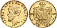 20 Lei Gold 1883  B Rumänien Carl I. 1866-1914. Kleine Kratzer, fast vo... 370,00 EUR kostenloser Versand