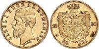 20 Lei Gold 1890  B Rumänien Carl I. 1866-1914. Kleiner Randfehler, kle... 350,00 EUR kostenloser Versand