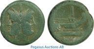 Roman Republic As  s-ss Anonymous, Dioscuri, Head of Janus/Roma, Olive G... 379,00 EUR  zzgl. 15,00 EUR Versand