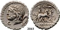 Roman Republic AR Denarius 87 BC ss L. and C. Memmius L.f Galeria, Saturn 139,00 EUR  zzgl. 15,00 EUR Versand