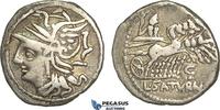 Roman Republic AR Denarius 104 BC ss L. Appuleius Saturninus, Saturn in ... 129,00 EUR  zzgl. 15,00 EUR Versand