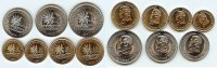 Keeling Cocos Island set of 7 coins