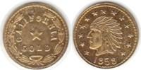 Fractional Gold 1858 USA Kalifornien Fractional Gold 1858 GOLD. winz. R... 170,00 EUR  zzgl. 4,00 EUR Versand