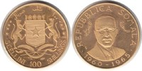 100 Schillings 1965 Somalia Republik Gold 100 Schillings 1965 GOLD. Pol... 625,00 EUR  zzgl. 4,00 EUR Versand