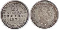 2 1/2 Silbergroschen 1871 Altdeutschland Brandenburg-Preussen Wilhelm I... 45,00 EUR  zzgl. 4,00 EUR Versand