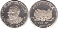Probe 500 Francs o.J. Niger Probe 500 Francs o.J. (1960) Präsident Dior... 175,00 EUR  +  5,00 EUR shipping