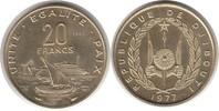 Probe 20 Francs 1977 Dschibuti Probe 20 Francs 1977 Stempelglanz  60,00 EUR  zzgl. 4,00 EUR Versand