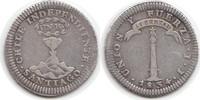 Real 1834 Chile Chile, Republik seit 1818 Real 1834 IJ sehr schön  240,00 EUR  zzgl. 4,00 EUR Versand
