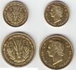 Probe 5 und 25 Francs 1956 Französische Kolonien Französische Kolonien-... 135,00 EUR