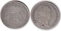 1/2 Taler 1765 Pfalz-Sulzbach Karl Theodor 1/2 Taler 1765 AS, Mannheim ... 230,00 EUR  zzgl. 4,00 EUR Versand
