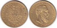 20 Mark 1888 Kaiserreich Preussen Friedrich III. Gold 20 Mark 1888 A GO... 295,00 EUR  zzgl. 4,00 EUR Versand