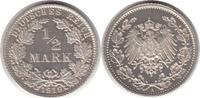 1/2 Mark 1919 Kaiserreich 1/2 Mark 1919 A Zaponiert. Polierte Platte  195,00 EUR  zzgl. 4,00 EUR Versand
