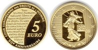 5 Euro 2009 Frankreich Fünfte Republik Gold 5 Euro 2009 GOLD. Polierte ... 65,00 EUR  zzgl. 4,00 EUR Versand