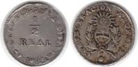 1/2 Real 1854 Argentinien Provinz La Rioja 1/2 Real 1854 B fast vorzügl... 250,00 EUR  zzgl. 4,00 EUR Versand