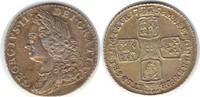 Shilling 1758 Grossbritannien George II. Shilling 1758 Vergoldet, fast ... 75,00 EUR  zzgl. 4,00 EUR Versand