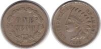 Cent 1859 USA Cent 1859 Indian Head winz. Randfehler, sehr schön  40,00 EUR  zzgl. 4,00 EUR Versand