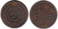 5 Centesimos 1854/40 Uruguay Republik 5 Centesimos 1854/40 Sun Face sch... 75,00 EUR  zzgl. 4,00 EUR Versand