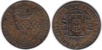 20 Reis 1821 Brasilien Joao VI. 20 Reis 1821 R, Rio de Janeiro vorzügli... 60,00 EUR  zzgl. 4,00 EUR Versand