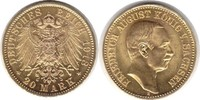20 Mark 1913 Kaiserreich Sachsen Friedrich August III. Gold 20 Mark 191... 895,00 EUR  zzgl. 4,00 EUR Versand