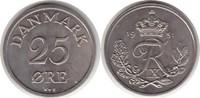 25 Öre 1951 Dänemark Frederik IX. 25 Öre 1951 fast Stempelglanz  75,00 EUR