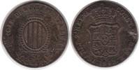 3 Quatros 1843 Spanien Katalonien Isabel 3 Quatros 1843 Randfehler, sch... 30,00 EUR