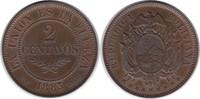Probe 2 Centavos 1883 Bolivien Republik Probe 2 Centavos 1883 vorzüglic... 275,00 EUR