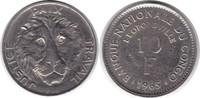 Probe 10 Francs 1965 Kongo Zaire Probe 10 Francs 1965 / Kupfer - Nickel... 395,00 EUR  zzgl. 4,00 EUR Versand