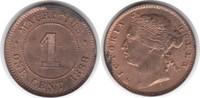 Cent 1888 Mauritius Mauritius Victoria Cent 1888 fast Stempelglanz  125,00 EUR