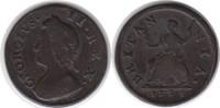 Farthing 1735 Grossbritannien George II. 1727-1760 schön - sehr schön  50,00 EUR  zzgl. 4,00 EUR Versand