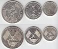 1, 2, 5 Riyals 1969 Vereinigte Arabische Emirate Ajman (3 Stück) Polier... 485,00 EUR  zzgl. 4,00 EUR Versand