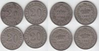 20 Centesimi 1895 Italien Umberto I. 1878-1900 (4 Stück) fast vorzüglic... 80,00 EUR  zzgl. 4,00 EUR Versand