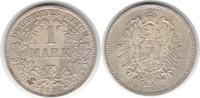 Mark 1882 Kaiserreich H Äußerst selten in dieser Erhaltung. Vorzüglich ... 1250,00 EUR