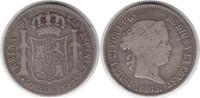 50 Centimos 1865 Philippinen Isabel II. 1833-1868 schön - sehr schön  95,00 EUR  zzgl. 4,00 EUR Versand