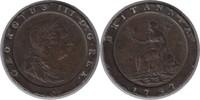 Twopence 1797 Grossbritannien George III. 1760-1820 'Cartwheel' Mehrere... 35,00 EUR  zzgl. 4,00 EUR Versand