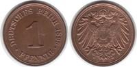 Pfennig 1899 Kaiserreich D Stempelglanz  55,00 EUR  +  5,00 EUR shipping