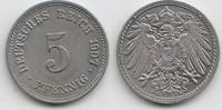 5 Pfennig 1907 G Kaiserreich  Vorzüglich-Stempelglanz  20,00 EUR  zzgl. 4,00 EUR Versand