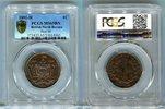 1 Cent 1891 H Britisch Nord Borneo  PCGS MS 65 BN  360,00 EUR  zzgl. 4,00 EUR Versand
