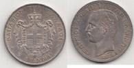 5 Drachmen 1876 A Griechenland Georg I. 1863 - 1913 Winziger Kratzer, v... 295,00 EUR  zzgl. 4,00 EUR Versand