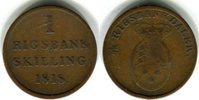 1 Skilling 1818 Dänemark Frederik VI. 1808-1839 Schön - sehr schön  20,00 EUR  zzgl. 4,00 EUR Versand