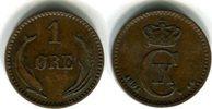 1 Öre 1891 Dänemark Christian IX. 1863-1906 Kleiner Randfehler, sehr sc... 7,00 EUR  zzgl. 4,00 EUR Versand