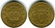 2 Kroner 1939 Dänemark Christian X. 1912-1947 Vorzüglich / vorzüglich+  30,00 EUR  zzgl. 4,00 EUR Versand