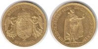 Ungarn 10 Korona Ungarn <i>Franz Josef I.</i> <b>Gold</b> 10 Korona 1910 KB
