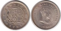 Jamaika Farthing Jamaica Farthing 1902
