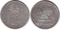 Mexiko Peso Mexico Peso 1873 <i>Guanajuato</i>