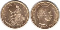 Dnemark 10 Kroner Dnemark <i>Christian IX.</i> <b>Gold</b> 10 Kroner 1900