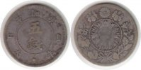 Japan 5 Sen Japan <i>Mutsuhito</i> 5 Sen 1871