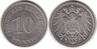10 Pfennig 1903 Kaiserreich E Fast Stempelglanz / Stempelglanz  135,00 EUR  zzgl. 4,00 EUR Versand